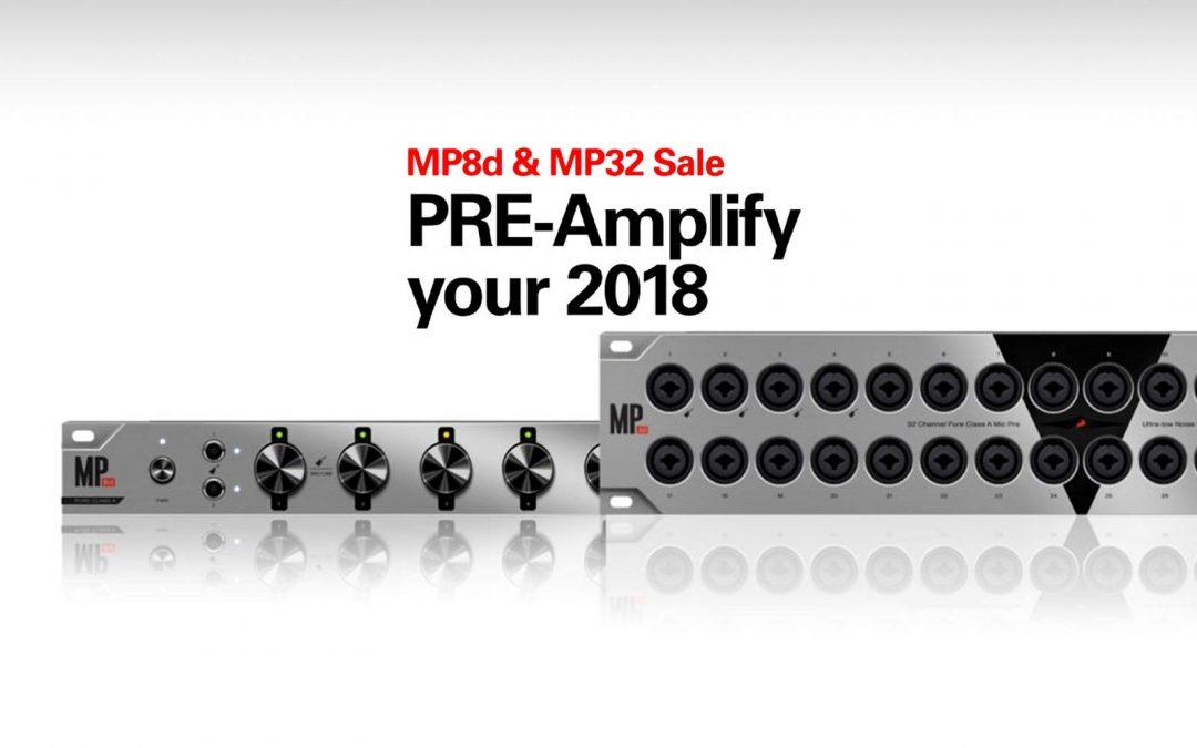 Antelope MP8D & MP32