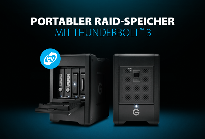 G-Speed Shuttle with Thunderbolt 3