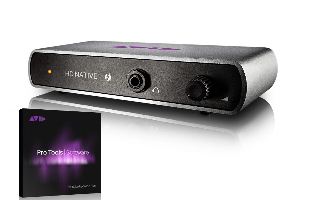 Avid Pro Tools HD Native TB with Pro Tools Ultimate Software