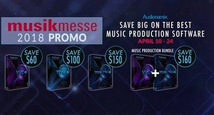 Audionamix Musikmesse Special