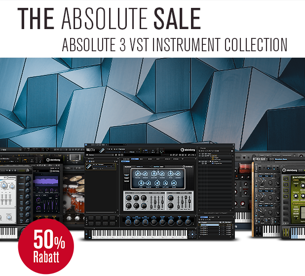 "Steinberg ""Absolute3"" Instrument Bundle"