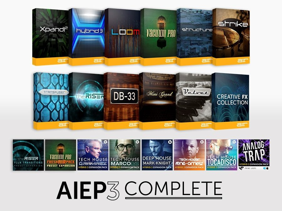 AIEP Pack 3 Complete Upgrade