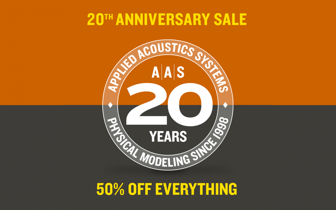 Applied Acoustics Systems – 20 jähriges Jubiläum
