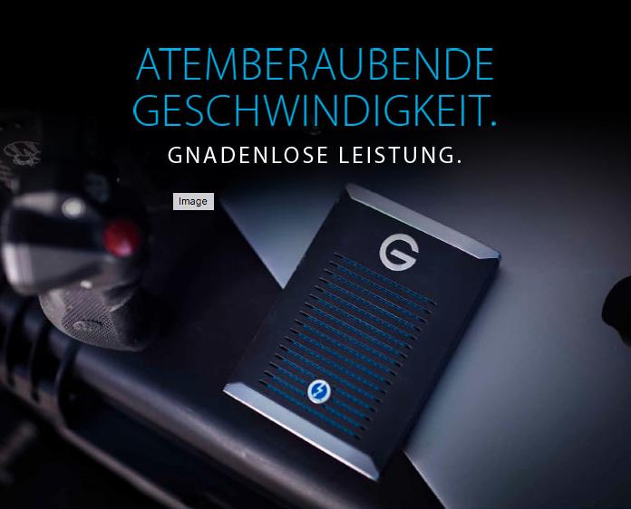 G-Drive mobil Pro SSD