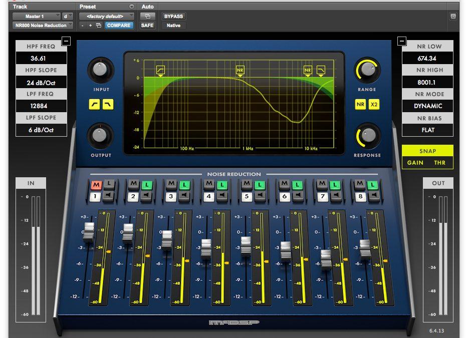 mcdsp NR800 Noise Reduction Plugin