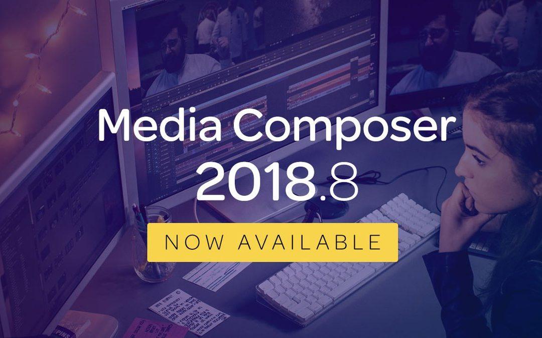 Avid Media Composer 2018.8 verfügbar