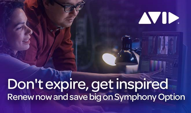 Avid Symphony-Option um € 89.- exkl. Mwst