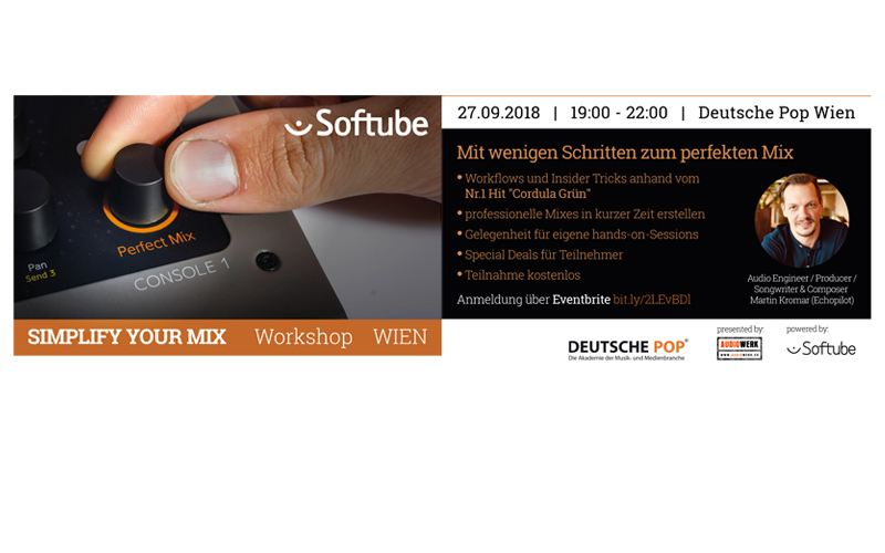 Softube Workshop in Wien