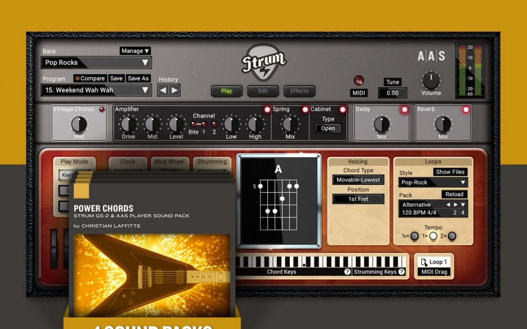 APP Strum GS-2 inkl. 4 Sound Packs
