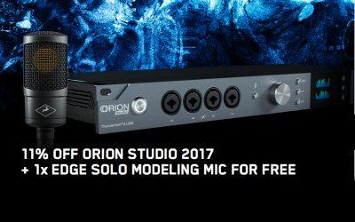 "Antelope Audio Promotion November ""Orion Studio"""