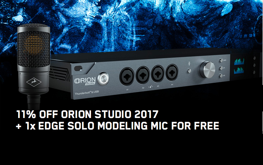 "Antelope Audio Promotion November ""Orion Studio"""