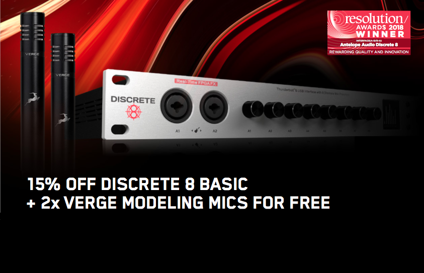 "Antelope Audio Promotion November ""Discrete8"""