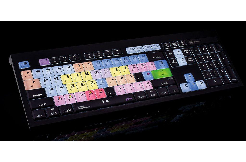 Avid Media Composer Backlit Keyboards