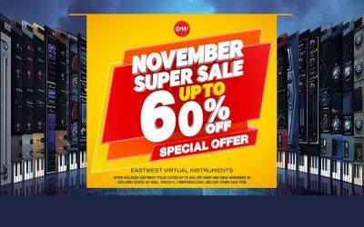 EastWest November Deal -60%