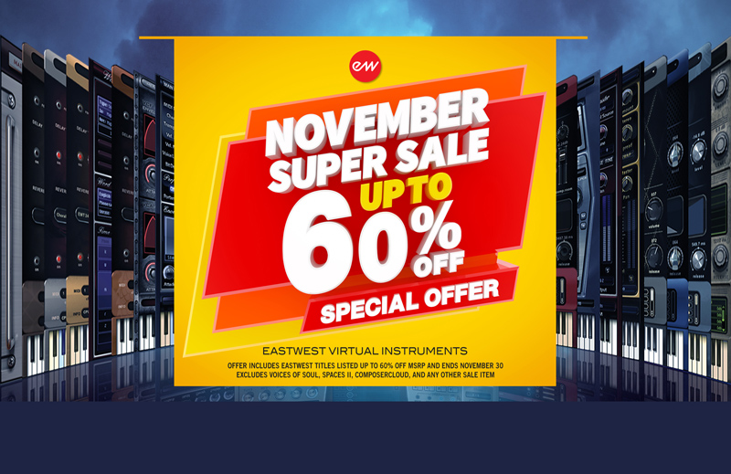 EastWest November Deal -60%