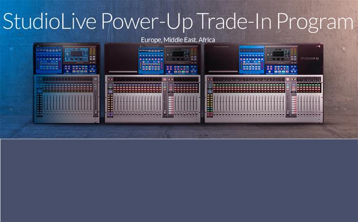 Presonus StudioLive Power-Up Trade Programm