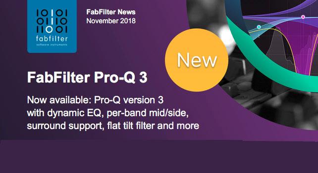 FabFilter veröffentlicht den Pro-Q3