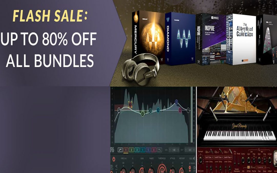 Waves Flash Sale – bis zu 80% Rabatt auf alle Bundles