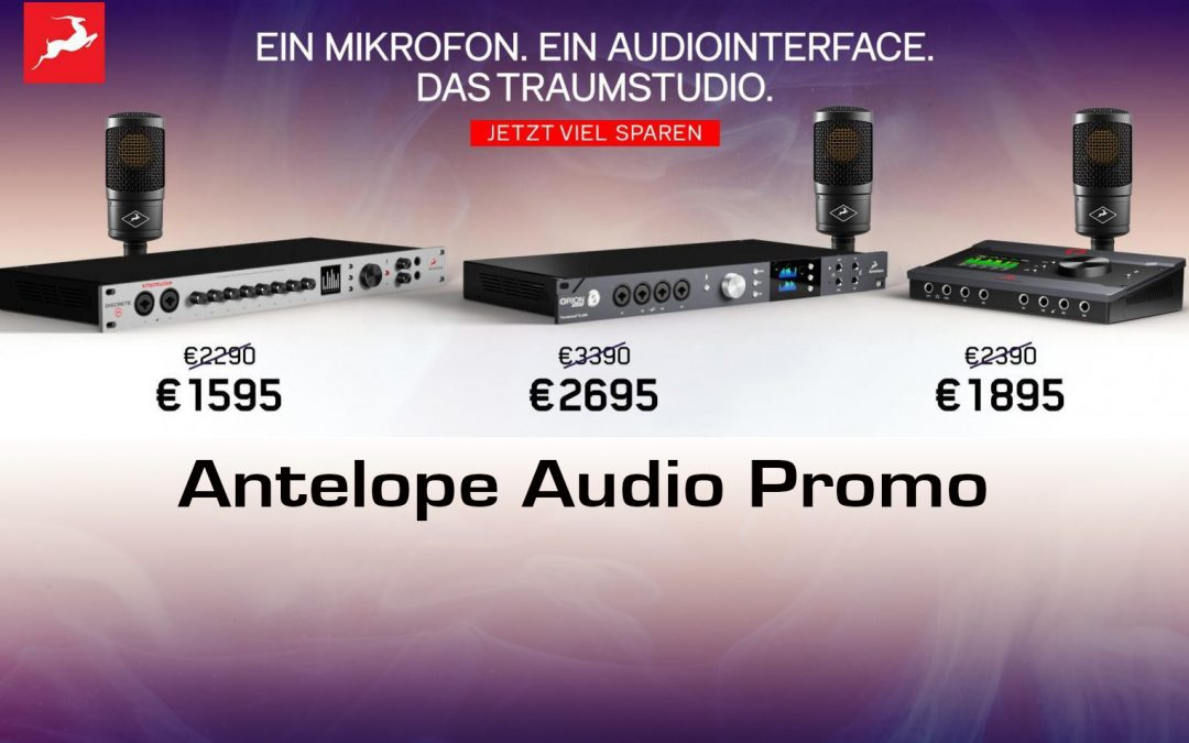Antelope Promo – Audio Interface inkl. Edge Solo