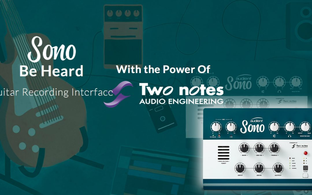 Audient Sono – das ultimative Guitar Interface