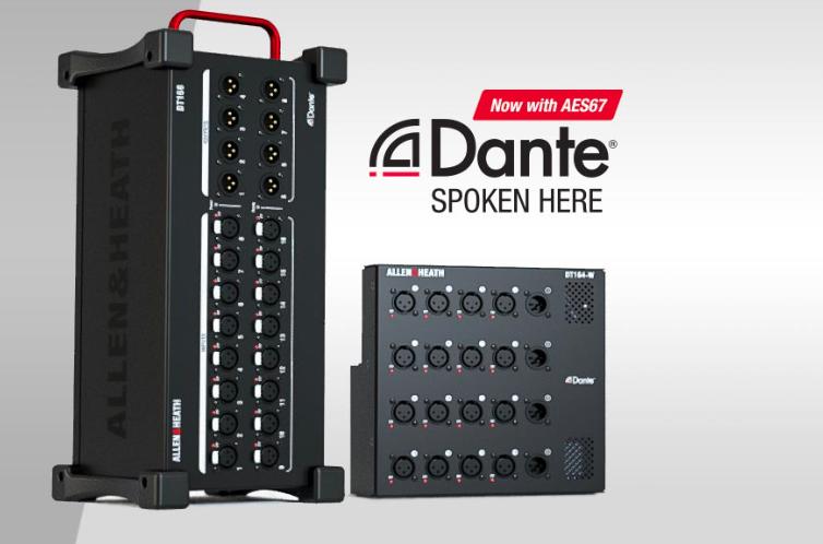 Allen&Heath DT168 Dante Expander