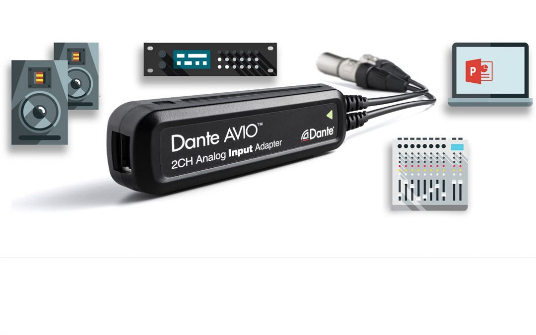 Dante AVIO Adapter von Audionate
