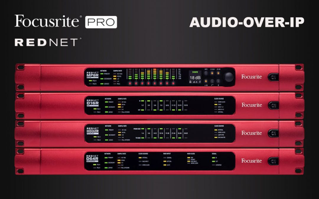 Audio-over-IP mit Focusrite Rednet