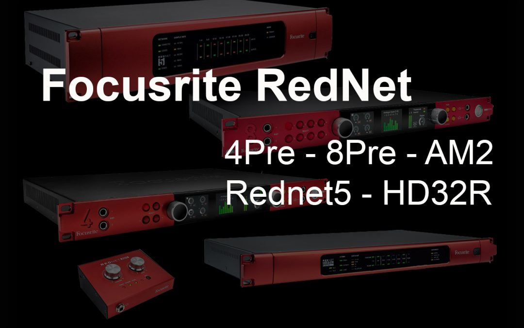 Focusrite Rednet für ProTools HD