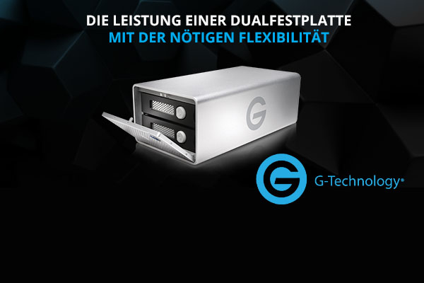 G-Technology G-RAID™ mit Thunderbolt™ 3