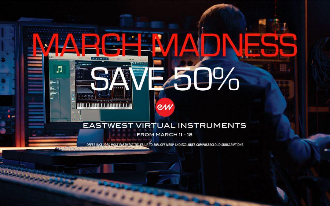 EastWest -50% Angebot bis 22. März