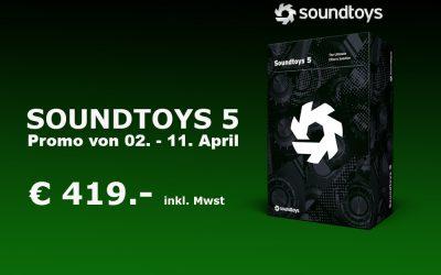 Soundtoys Promo von 02. bis 11. April