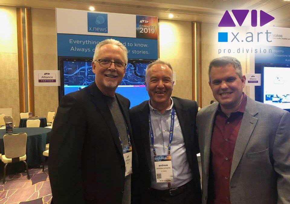 AudioPro Partnerschaft von X-art und Avid