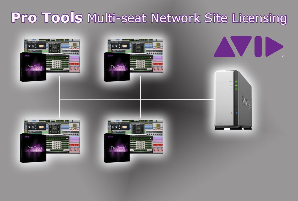 Pro Tools Multi-Seat Network Site Licensing