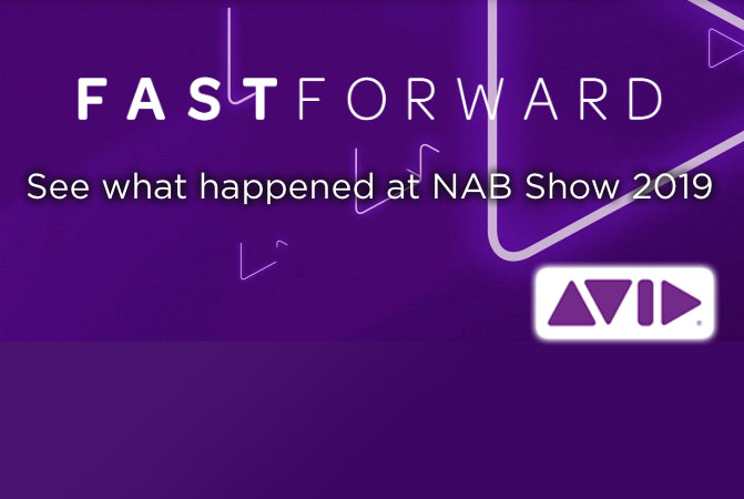 Avid NAB Produkt  Demos – On Demand