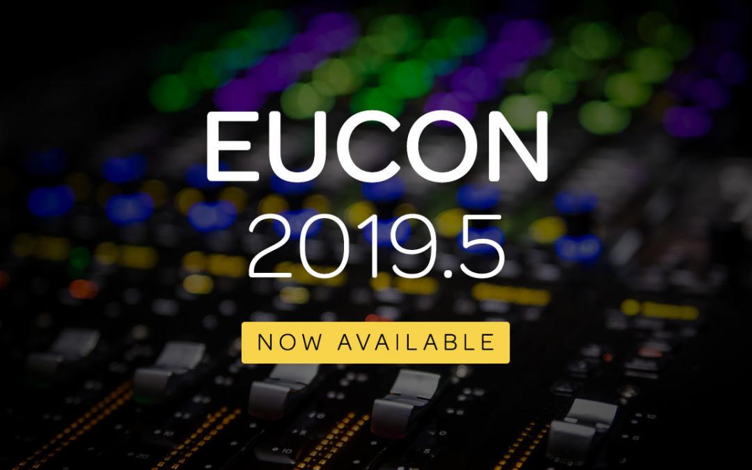 Avid Eucon 2019.5 absofort verfügbar