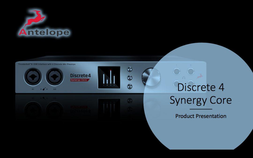 Antelope Discrete Synergy Core