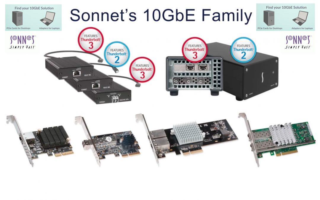 Sonnet Technologies 10GbE Family