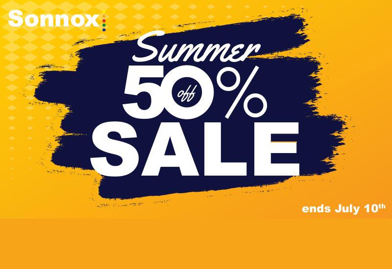 Sonnox Summer Sale – 50% Rabatt