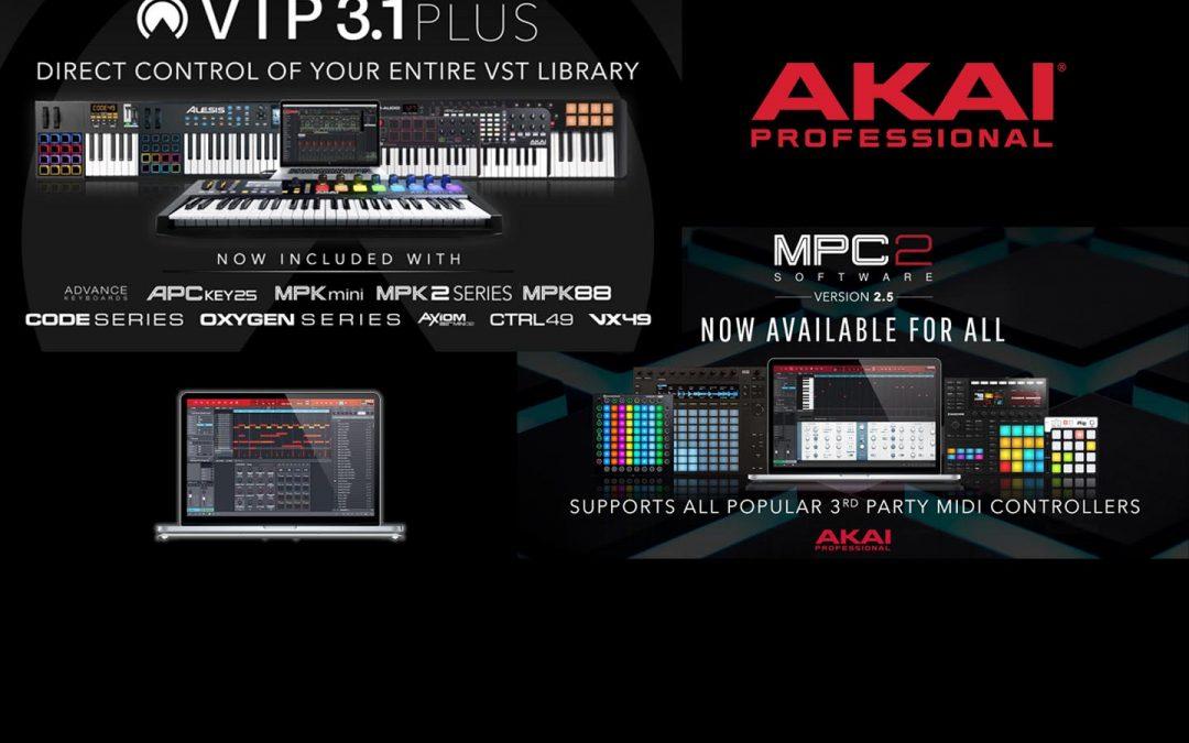 AKAI VIP 3.1 und MPC 2.5 Promo
