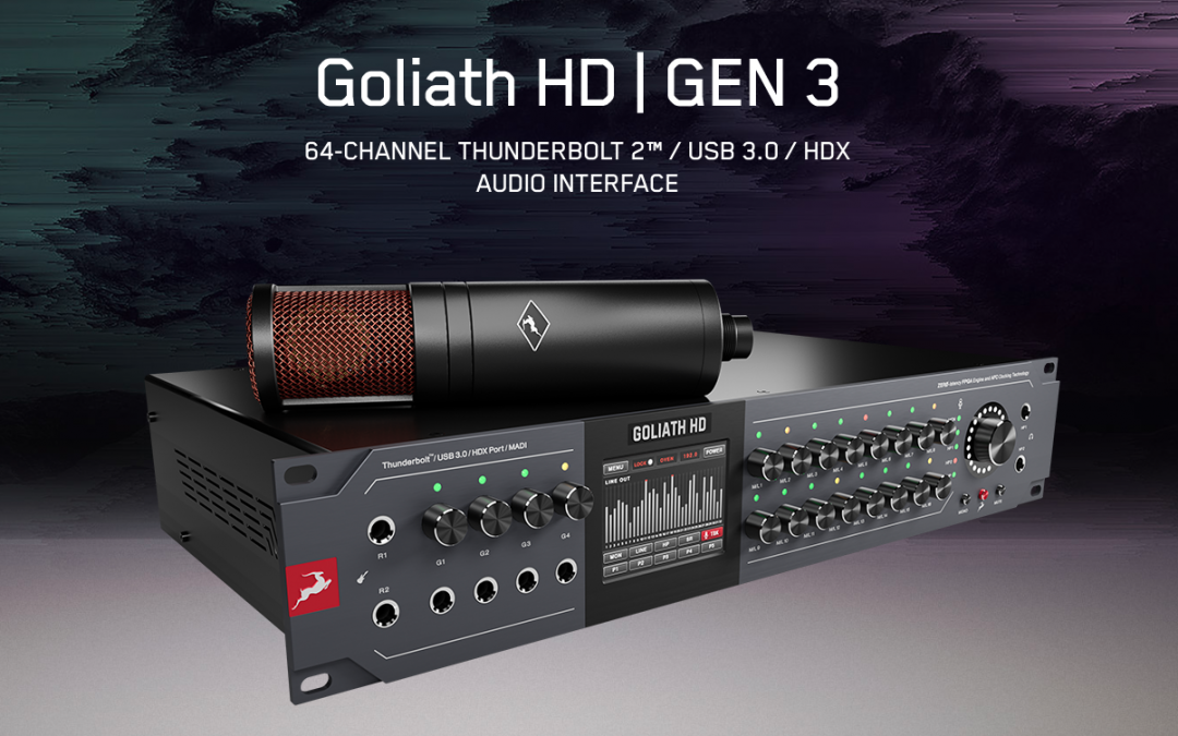 Antelope – Goliath HD Gen3 inkl. Edge Duo Mic