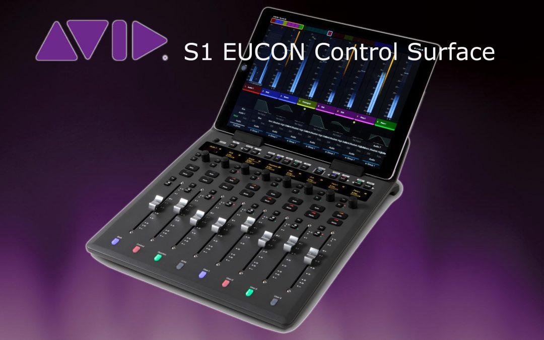 Avid S1 EUCON Control Surface