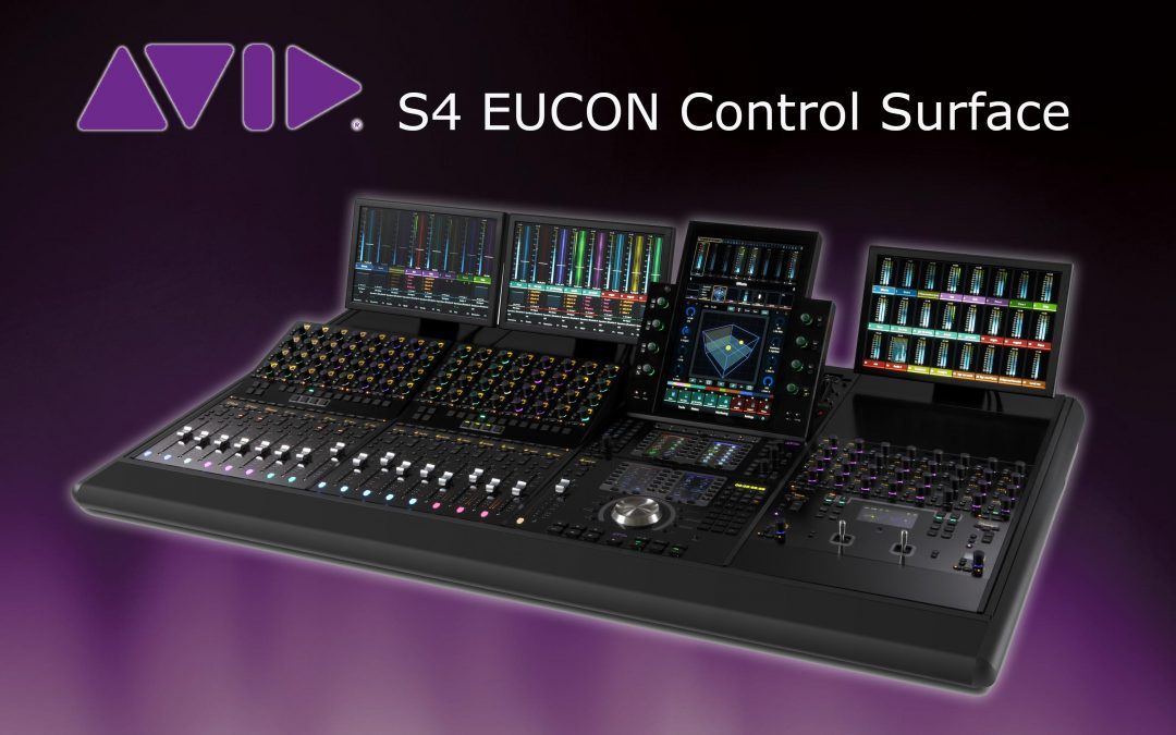 Avid S4 EUCON Control Surface