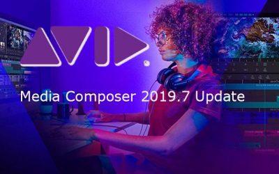 Avid Media Composer 2019.7 verfügbar