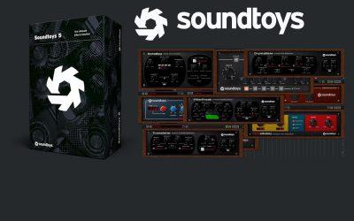 Soundtoys 5 Promo von 16.07. bis 25.07. 2019