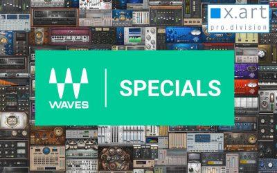 Waves Specials auch bei X-ART ProDivision erhältlich