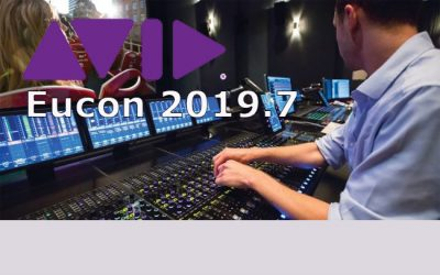 Avid Eucon 2019.7 Software Update