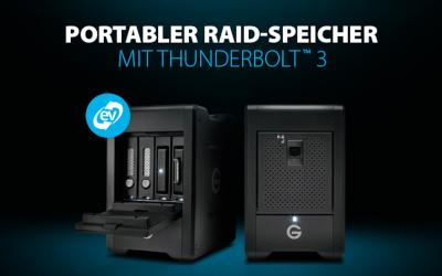 G-Speed Shuttle mit Thunderbolt 3