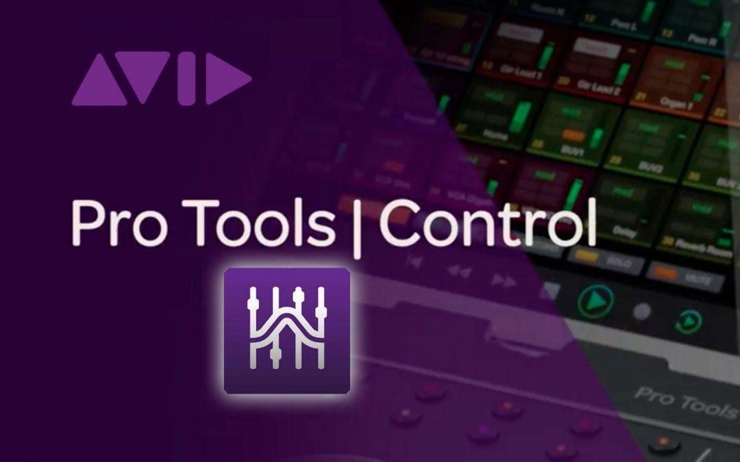 Wichtige Information zur Pro Tools Control App