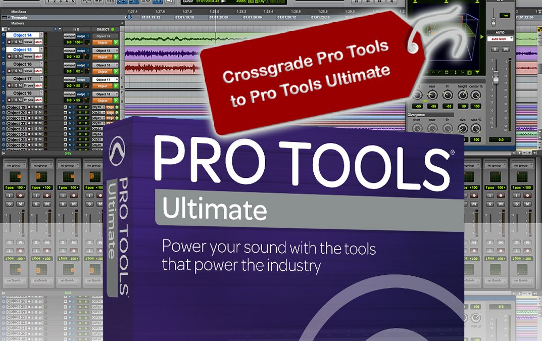Crossgrade Pro Tools to Pro Tools Ultimate
