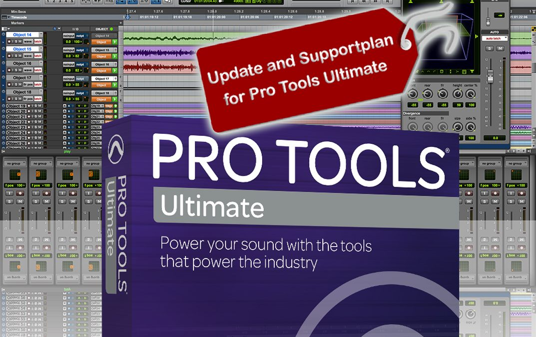 Pro Tools Ultimate Supportplan New – 20%